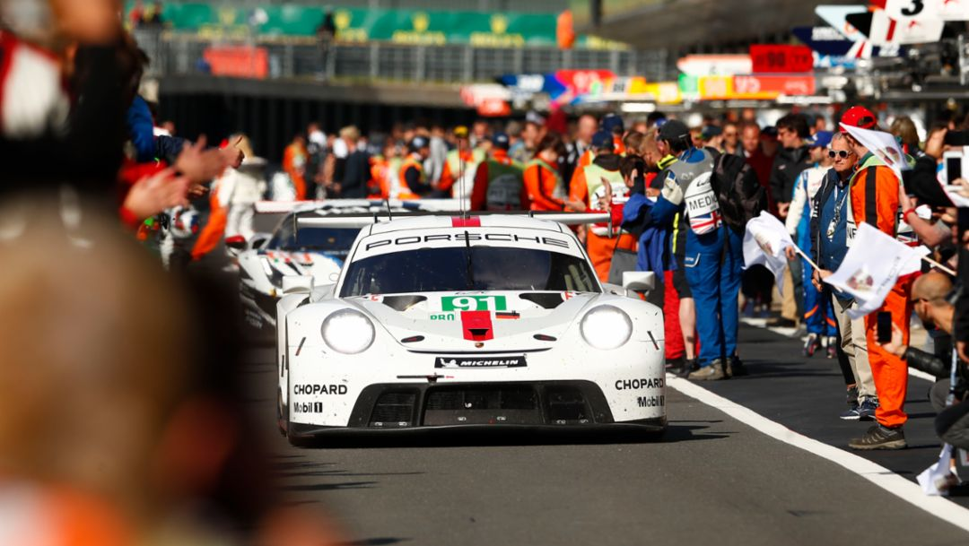 One, Two, Debut. New Porsche 911 RSR Premiers with English WEC Victory.