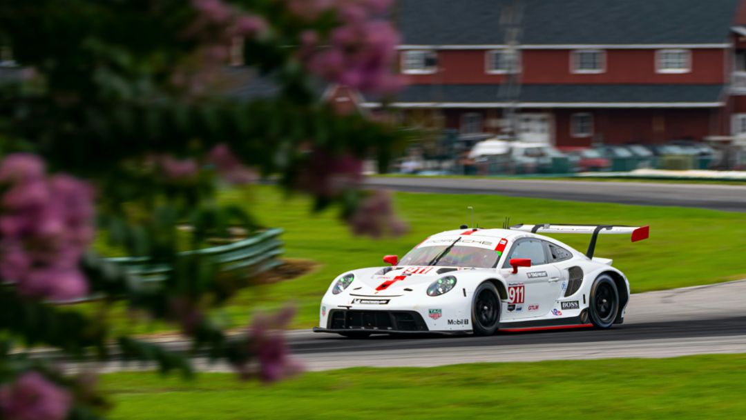 Podium Return. Porsche GT Team Settles for Third-Place Despite Being in Contention to Win.