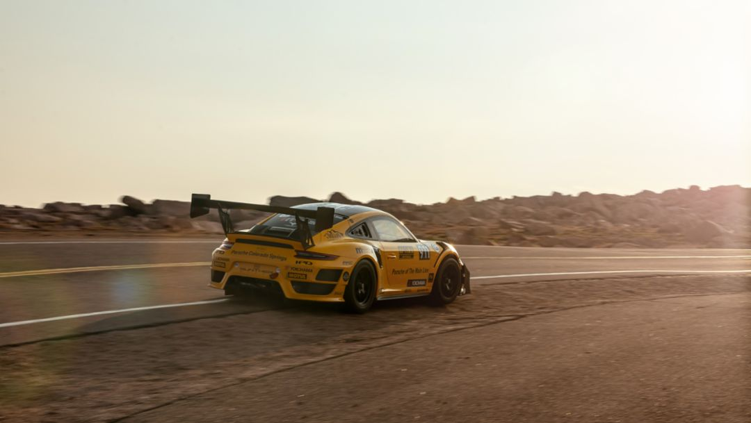 Time to Attack. Trio of Porsche Track Cars To Battle One Another and Pikes Peak.