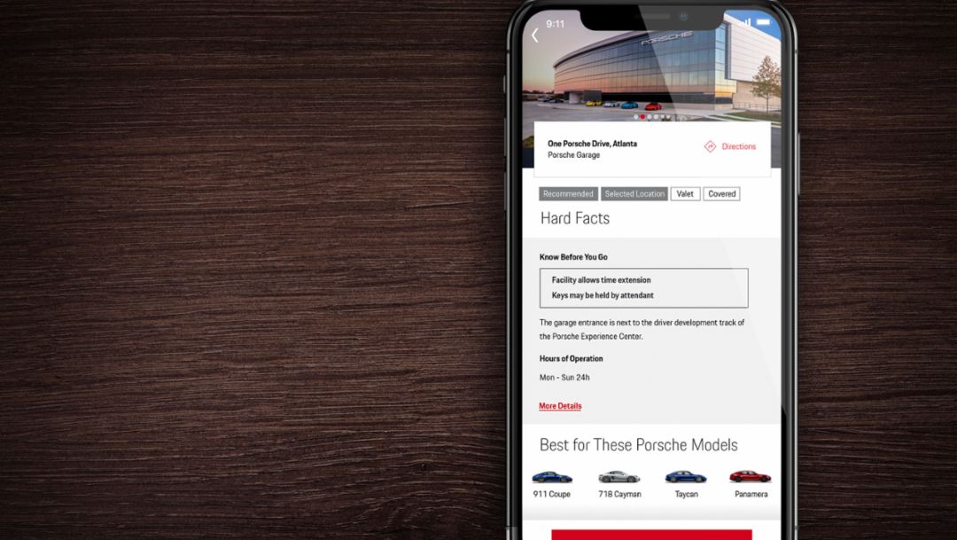 Porsche launches parking app to help make day-to-day life just a little bit easier
