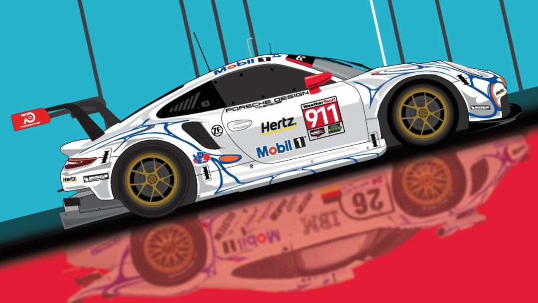 Holiday Gift. Porsche Cars North America Offers Present for Motorsport Fans.