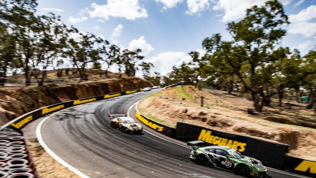 Pro Podiums and Pro-Am Win at Bathurst 12 Hour for 911 GT3 R