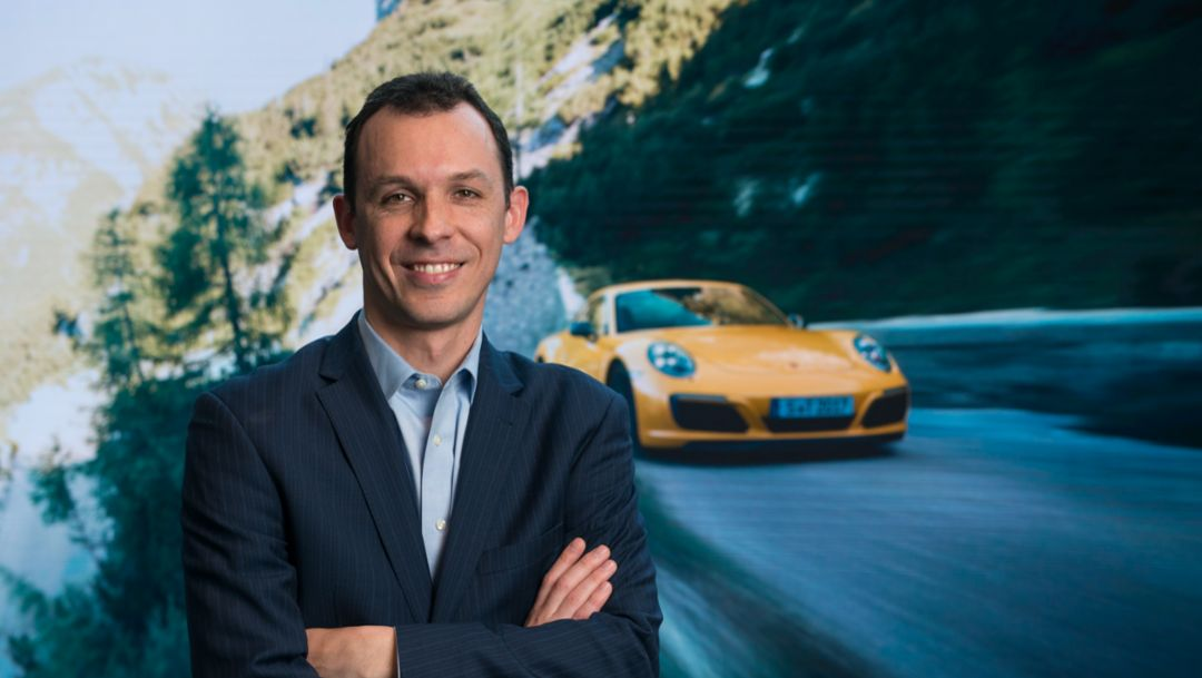 Porsche Cars North America appoints new manager for product communications