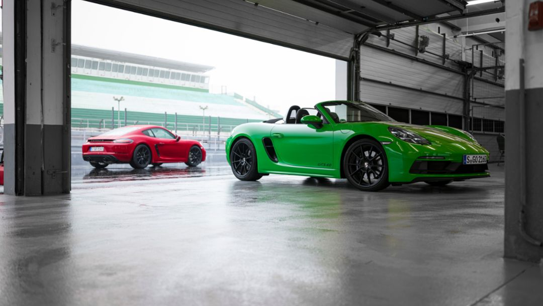 2021 model year 718 Boxster and Cayman welcomes upgraded standard equipment and new options