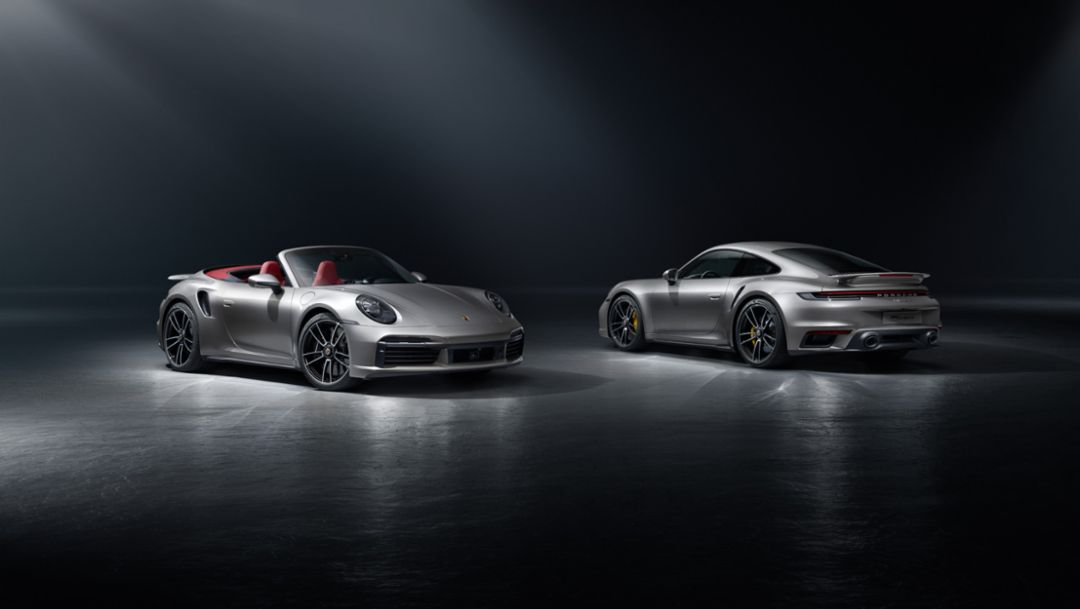 Top-of-the-range 911 with enhanced dynamics: the Porsche 911 Turbo S
