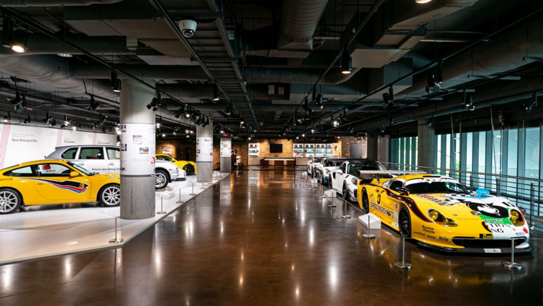 Virtual Tour: Porsche Heritage Gallery