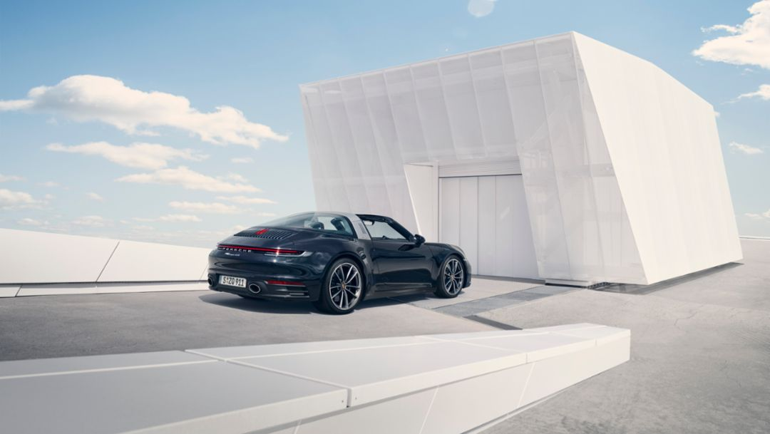 Porsche debuts the 2021 911 Targa 4 and 4S models
