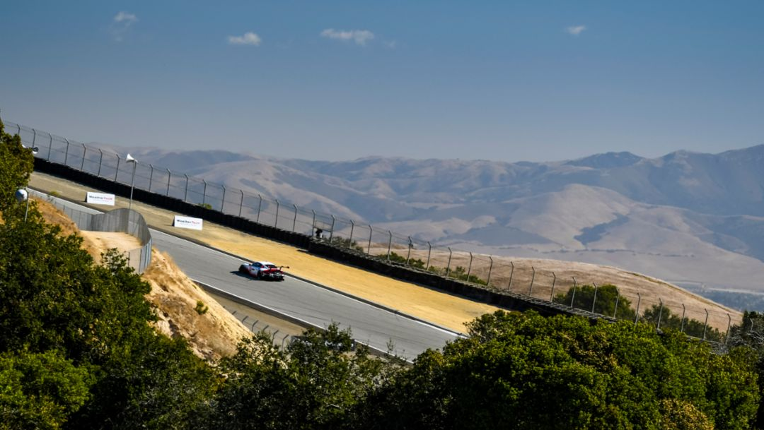 Porsche Preps for Peninsula. Porsche GT Team and Wright Ready for IMSA Round in Monterey.