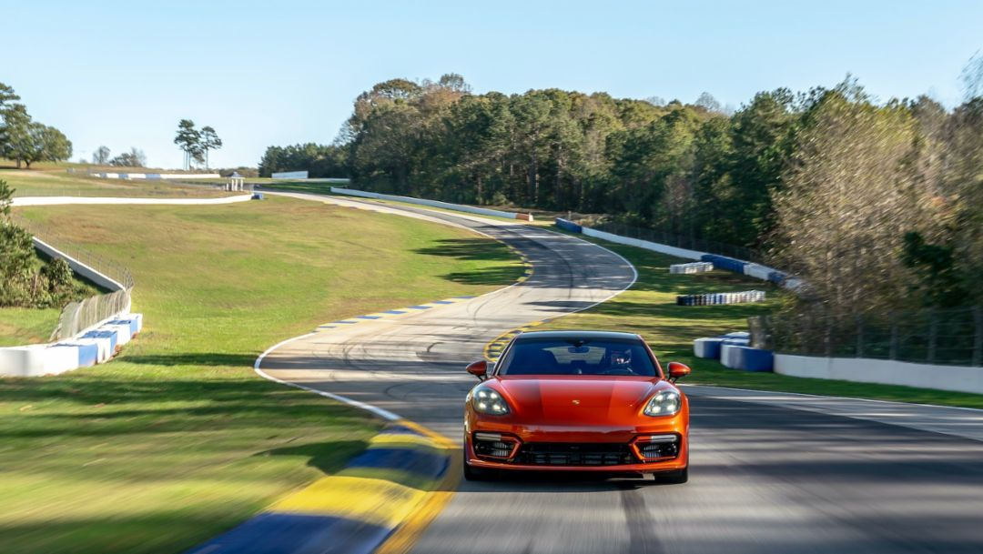 2021 Panamera Turbo S sets production sedan benchmark at Michelin Raceway Road Atlanta