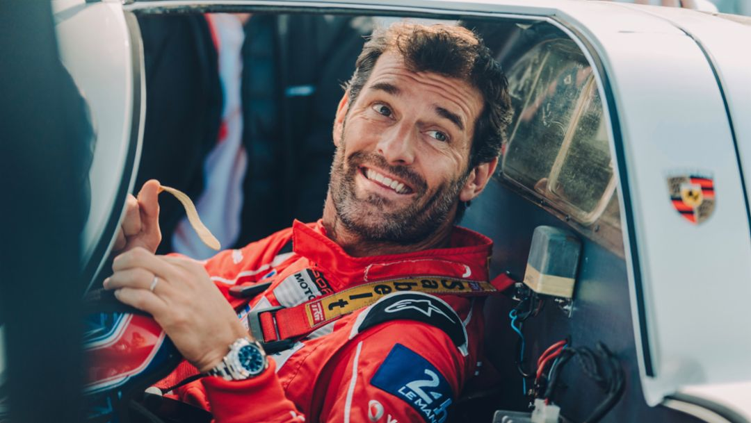 Mark Webber, 917, Goodwood paddock, 2019, Porsche AG