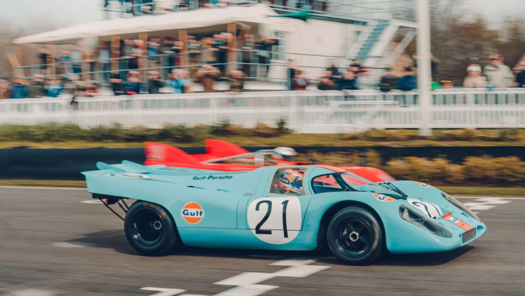 917 KH, 77th Goodwood Members Meeting, Great Britain, 2019, Porsche AG