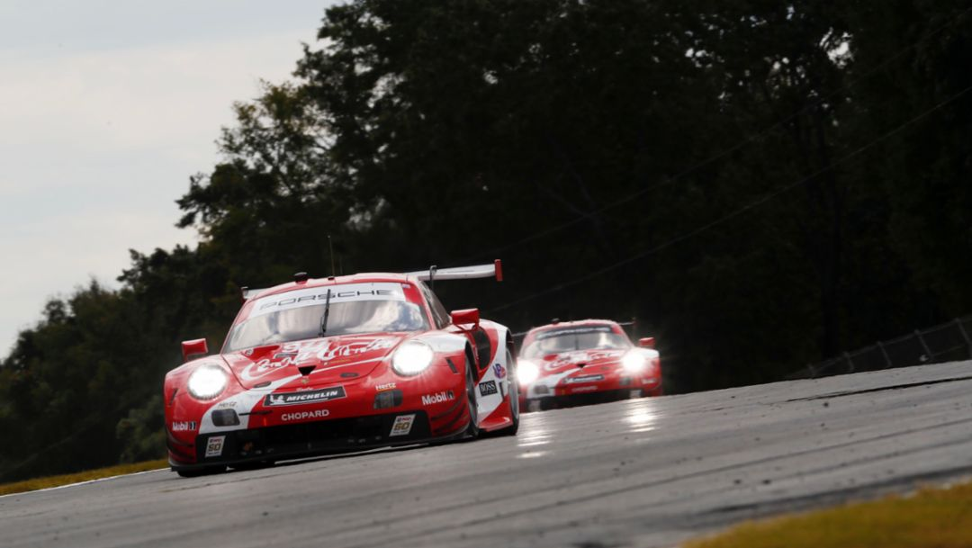 "Wheel of Fortune. Porsche ""Works"" and Customer Teams Chase Petit Le Mans Success."