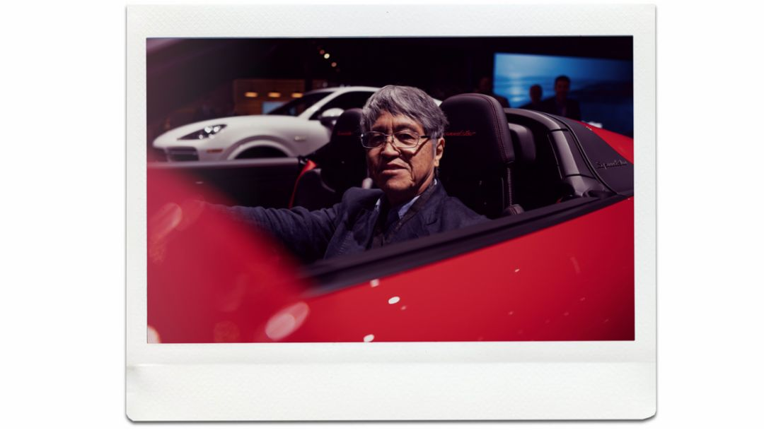 Yoshihiro Kimura, Freelancer, 911 Speedster, world premiere, New York International Auto Show, 2019, Porsche AG