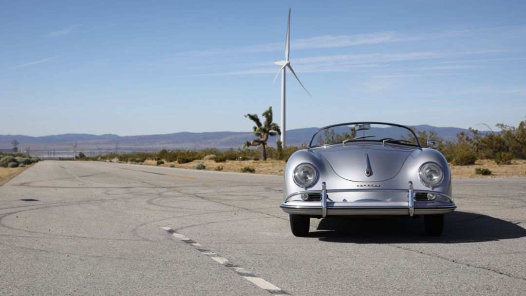 356 Speedster, Willow Springs, 2019 Porsche AG