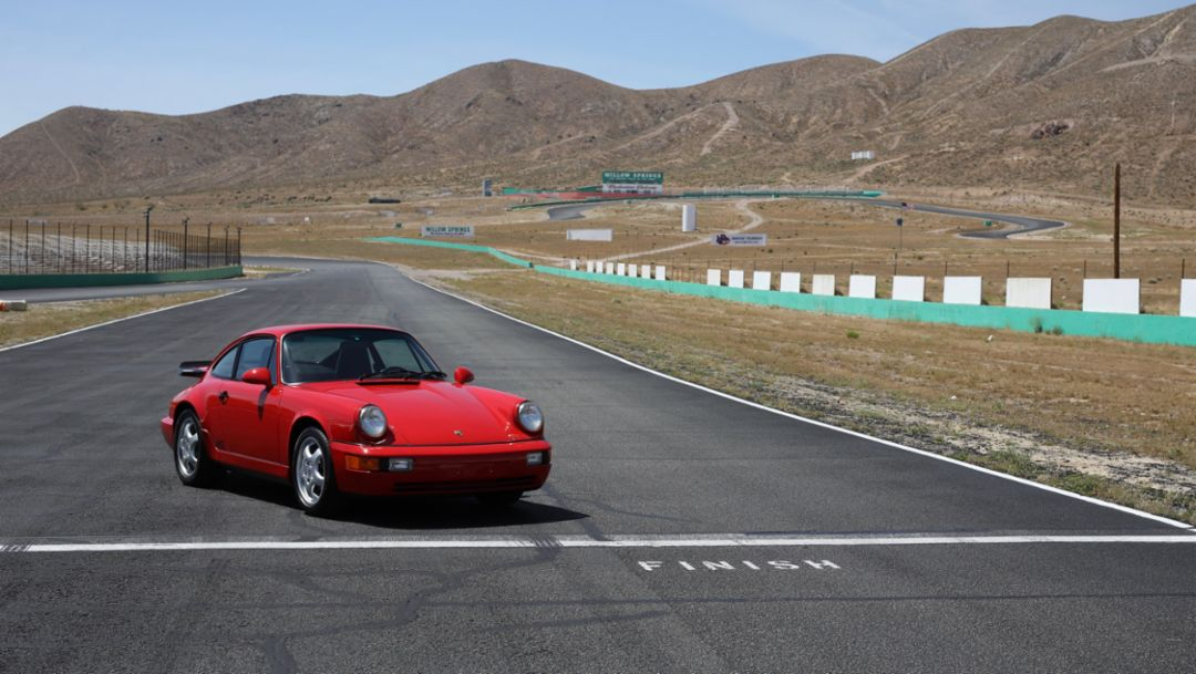 911 RS America, Willow Springs, 2019, Porsche AG