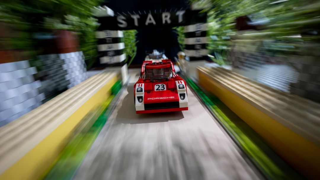 #GetCreativeWithPorsche: recreating iconic images with Lego