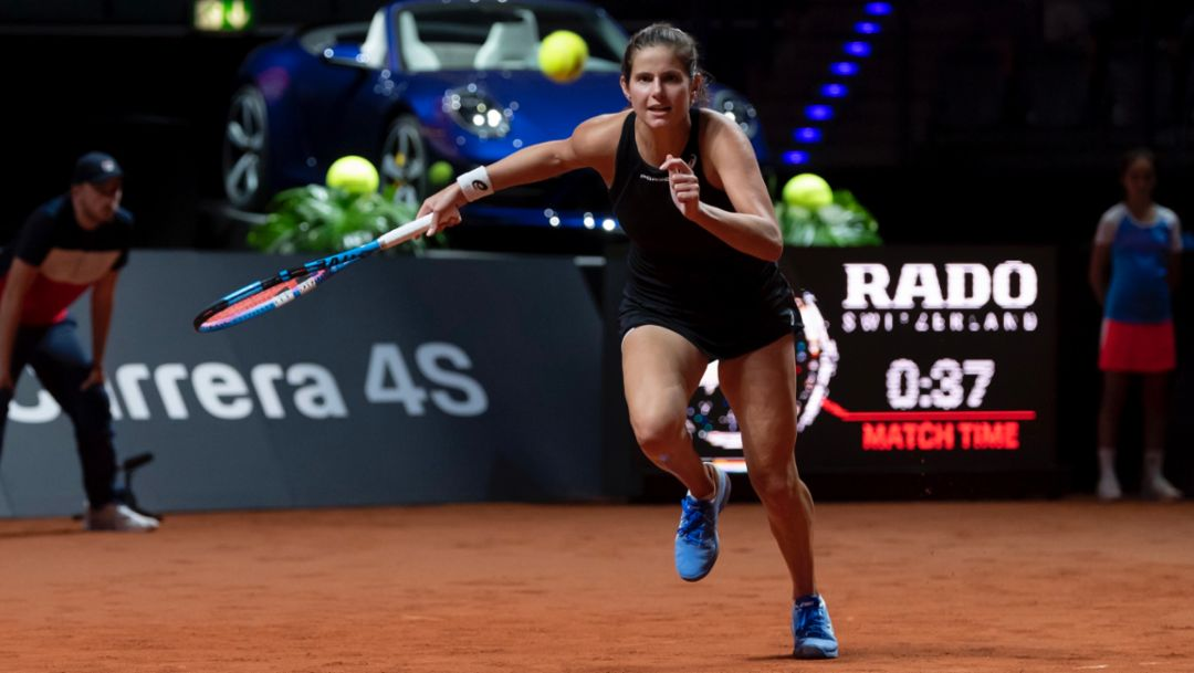 Julia Görges says a quiet goodbye to tennis