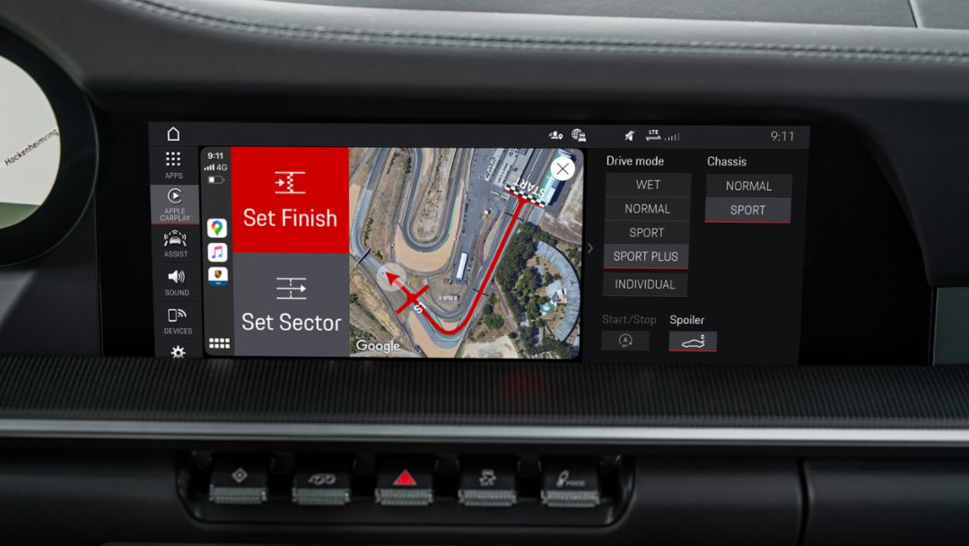 Analyse this: the Porsche Track Precision App