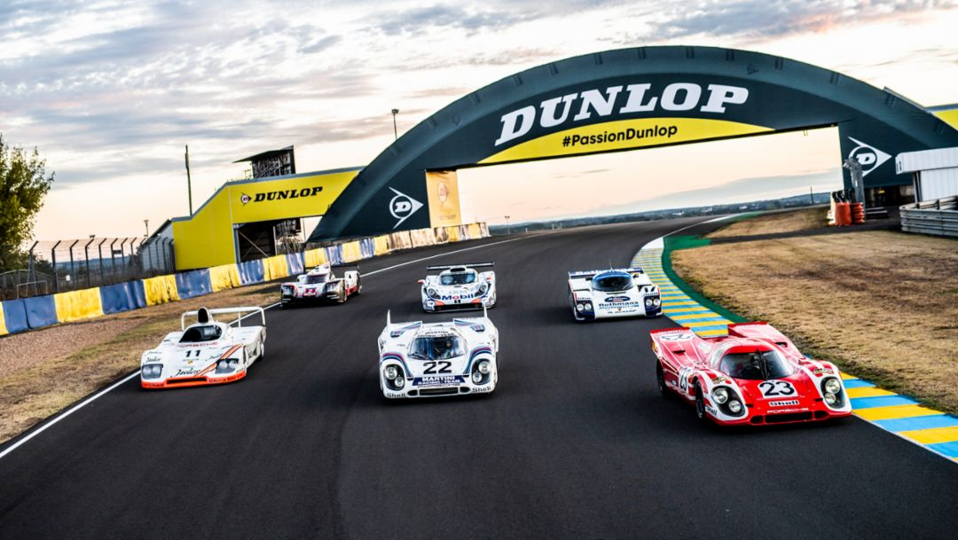 Six overall winners from Porsche in Le Mans