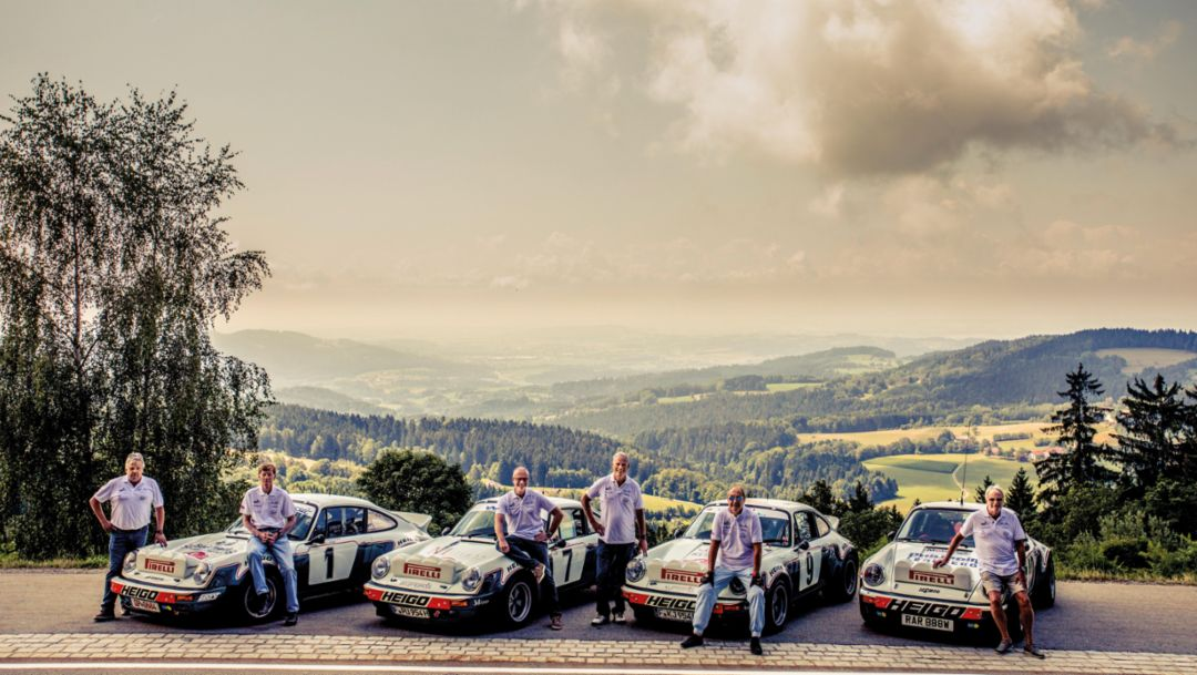 The Heigo-Porsche 911 SC: meeting of a fast quartet