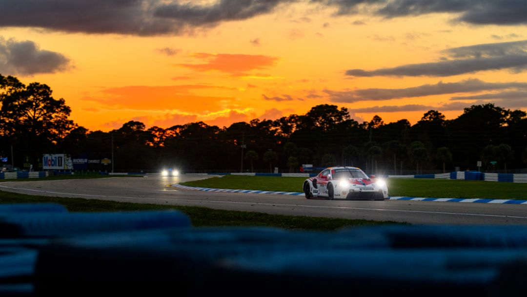 Out On Top. Porsche 911 RSR Finishes One-Two, Wright Takes GTD Win In IMSA Finale.