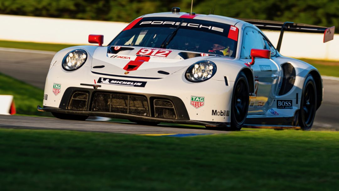 Porsche GT Team will not compete in the IMSA race in Mid-Ohio