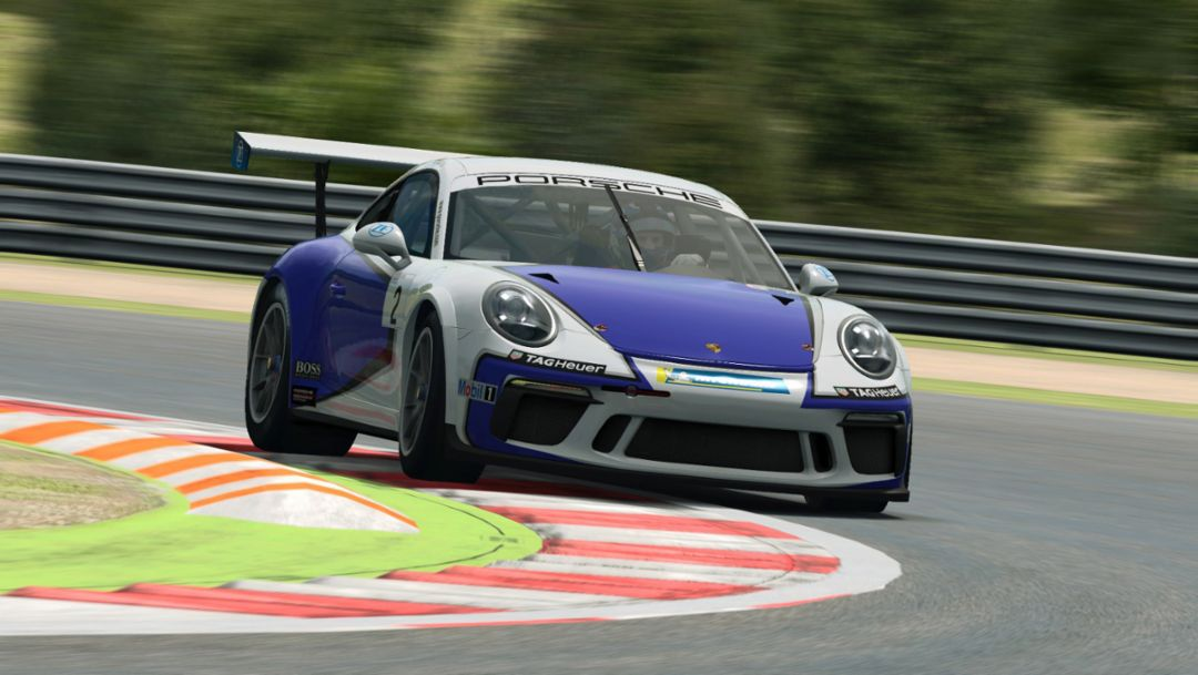 Real racing drivers and elite sim racers pursue the title