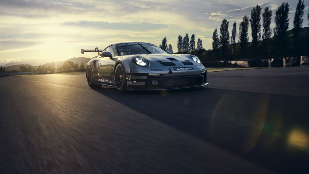 Porsche Premiere. Newest Porsche 911 GT3 Cup Race Car to Make Testing Debut with Newest One-Make Series.