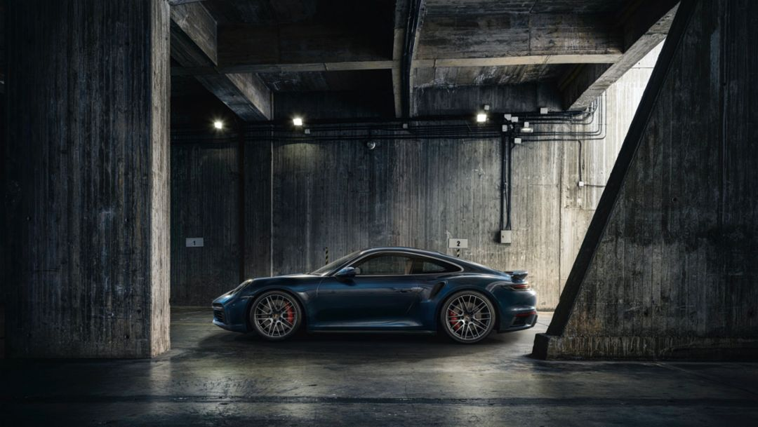 Benchmark for the past 45 years: the Porsche 911 Turbo
