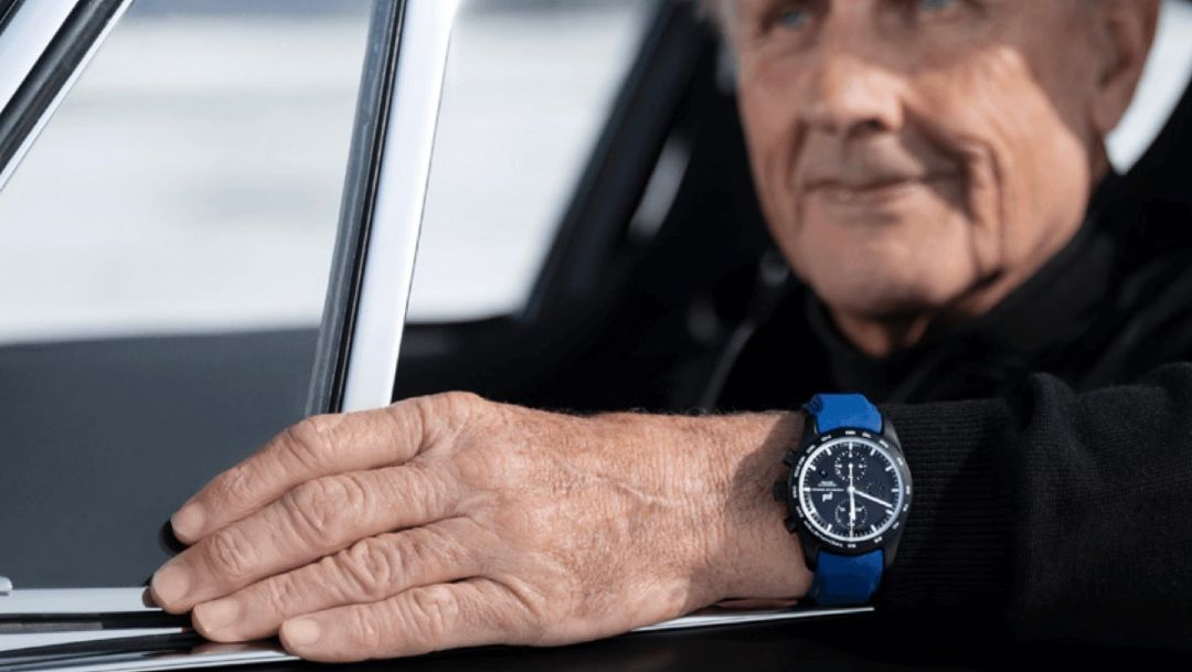 Porsche Design: chronograph in honour of Hans-Joachim Stuck