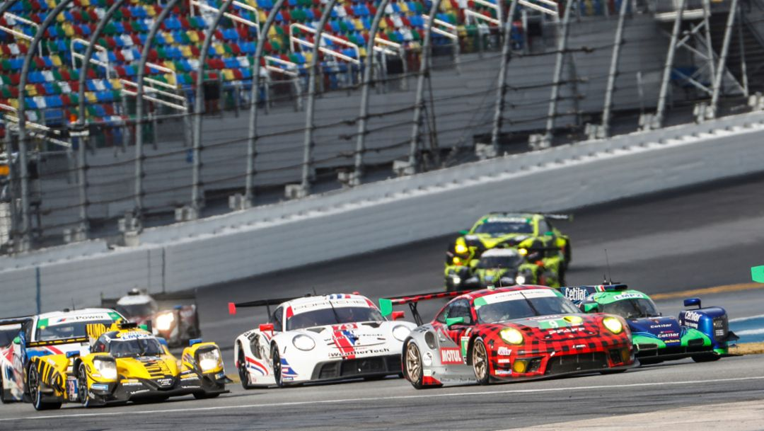 By the Numbers. Porsche Customer Teams Target Extending Brand's Daytona Success.