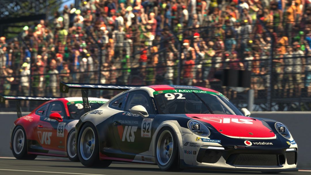 Californian To Top. Mitchell deJong Takes Esports Supercup Points Lead After Round 2.