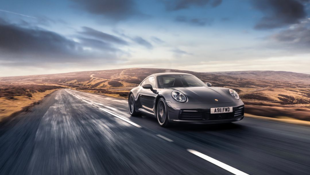 Five modes in one day – with the Porsche 911