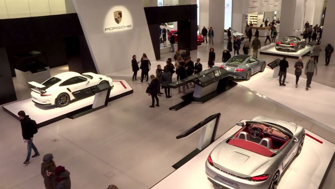 "Brand exhibit ""Fascination Sports Cars"" in Berlin"