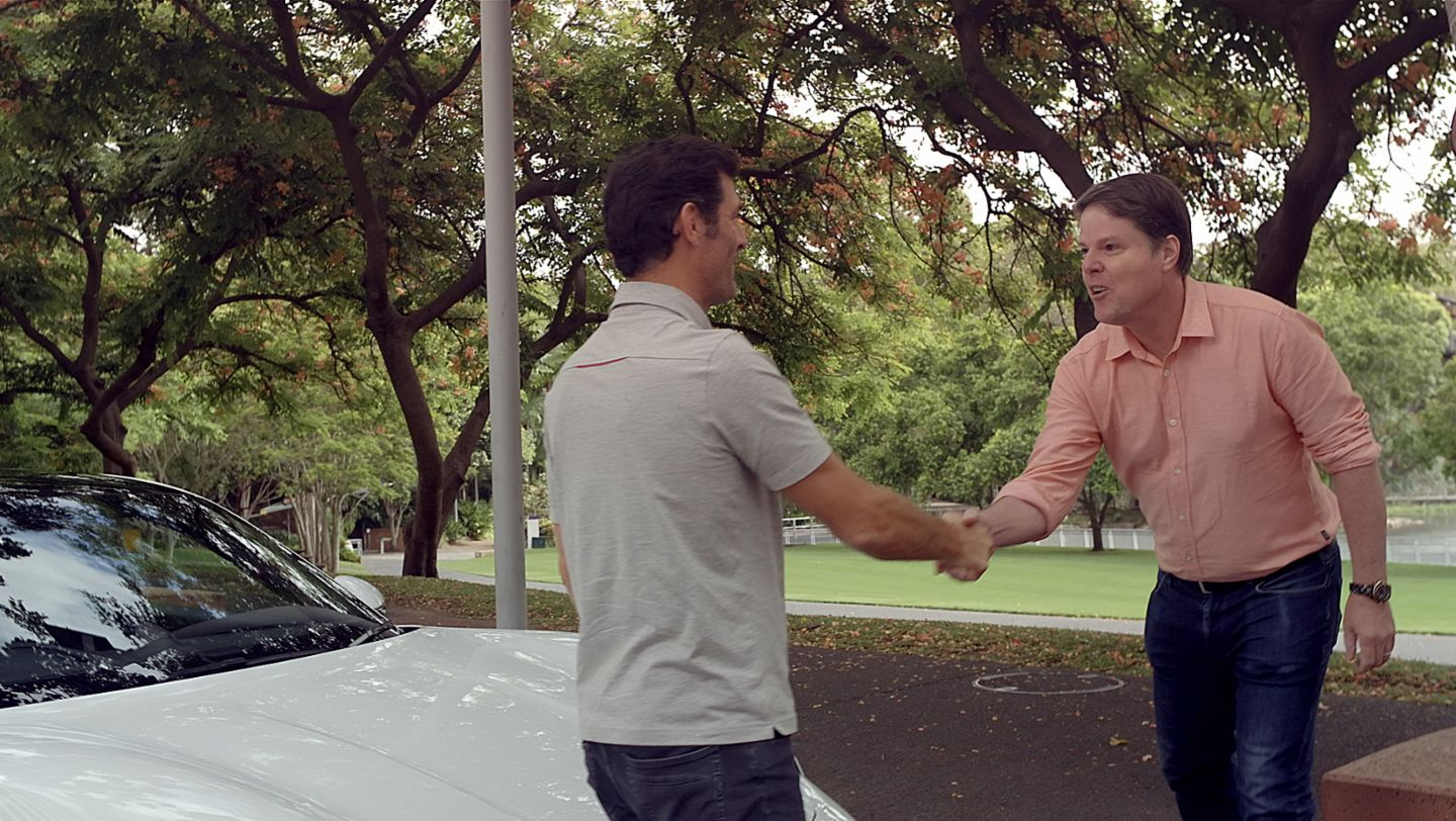 Special delivery: Taycan taxi with Mark Webber - Image 3