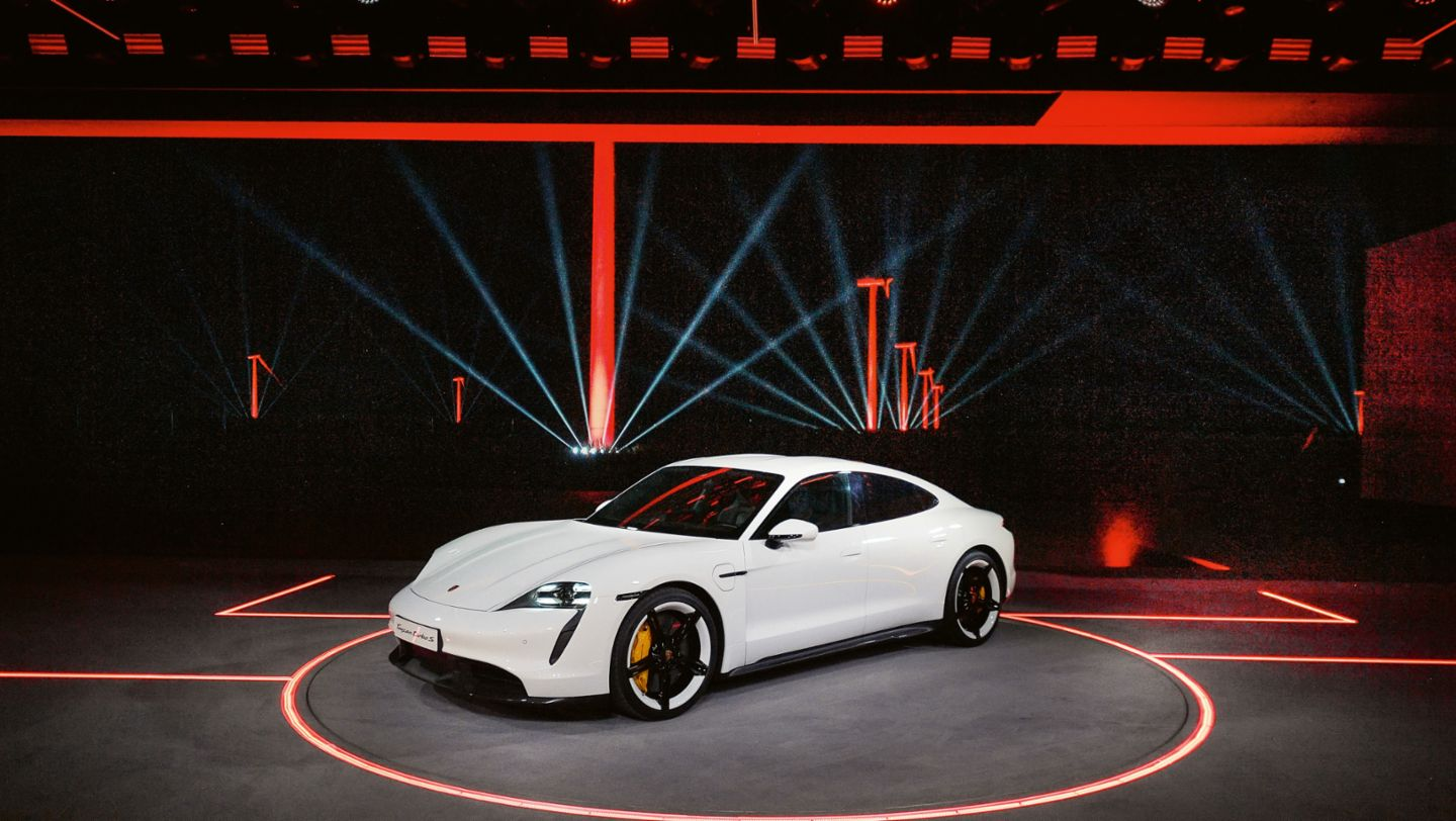 World premiere of the new Porsche Taycan in China, 2019, Porsche AG