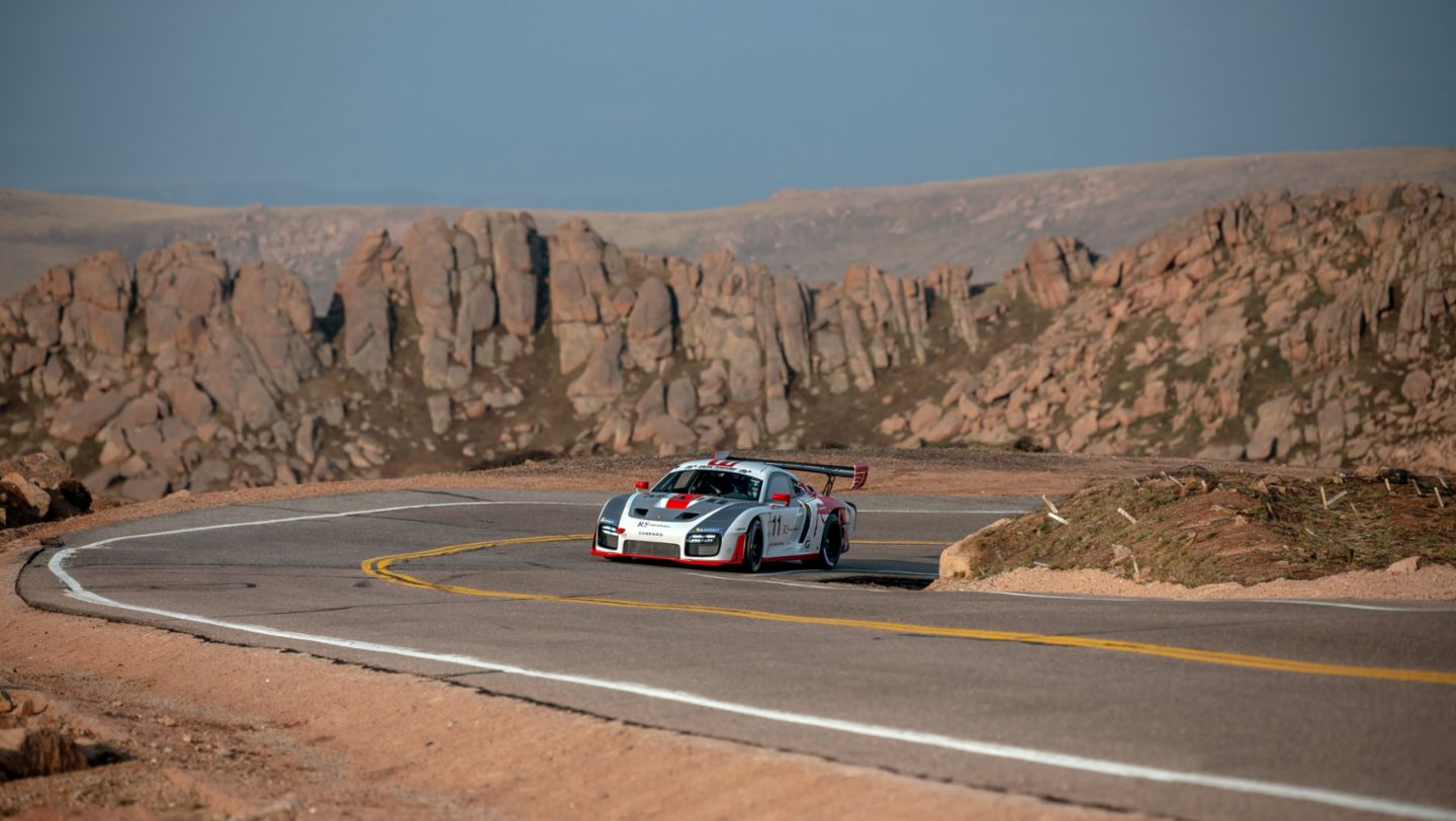 No. 11 Porsche 935-19, Jeff Zwart Run 1, Pikes Peak, by Marc Urbano