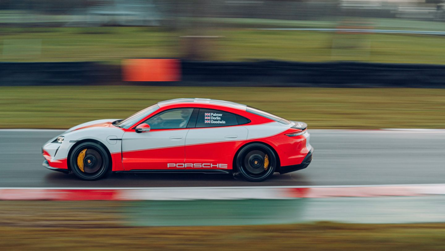 Taycan Turbo S, Brands Hatch, 2021, Porsche AG