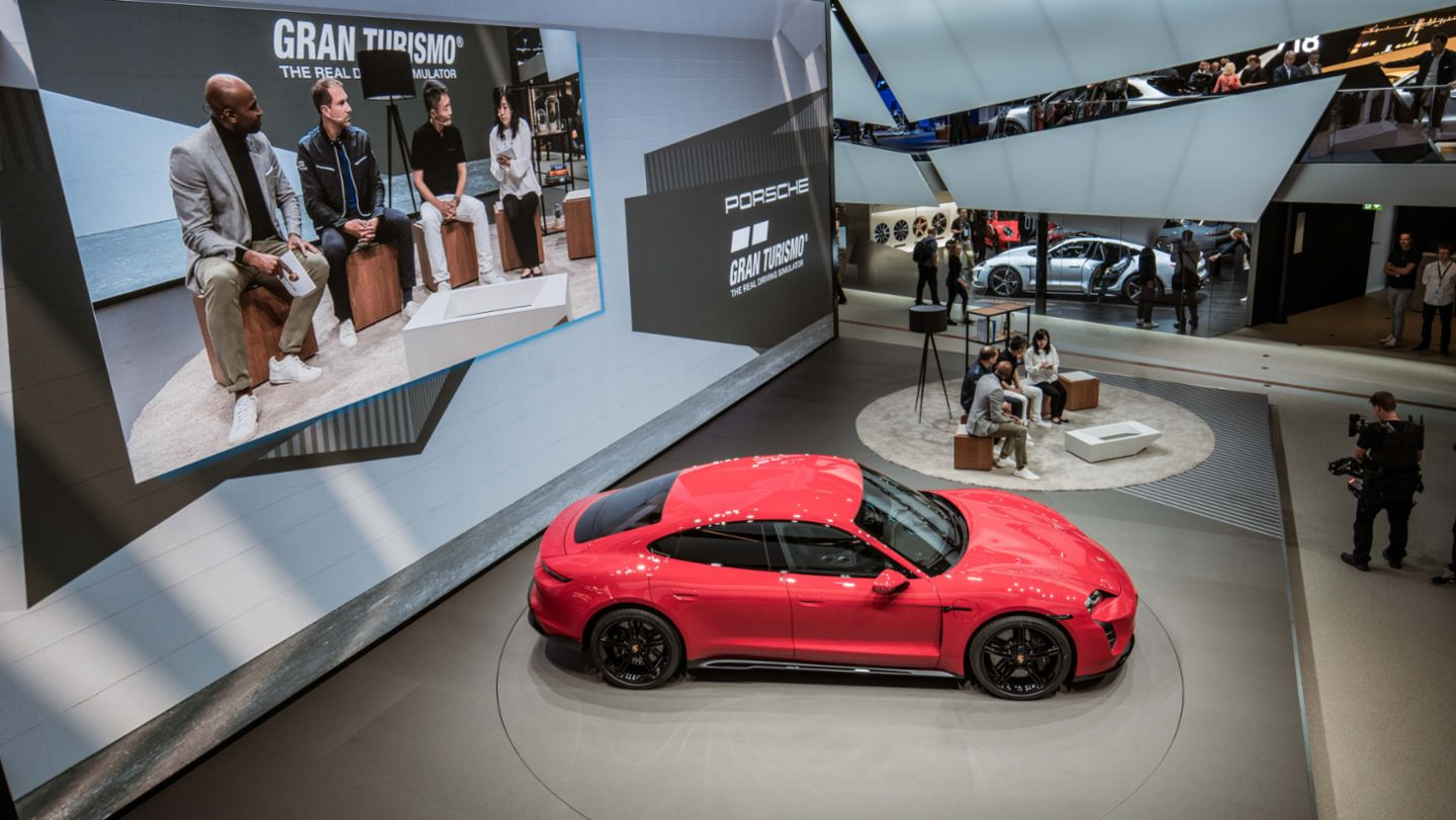Joint press conference of Porsche and Polyphony Digital Inc. at the IAA, 2019, Porsche AG