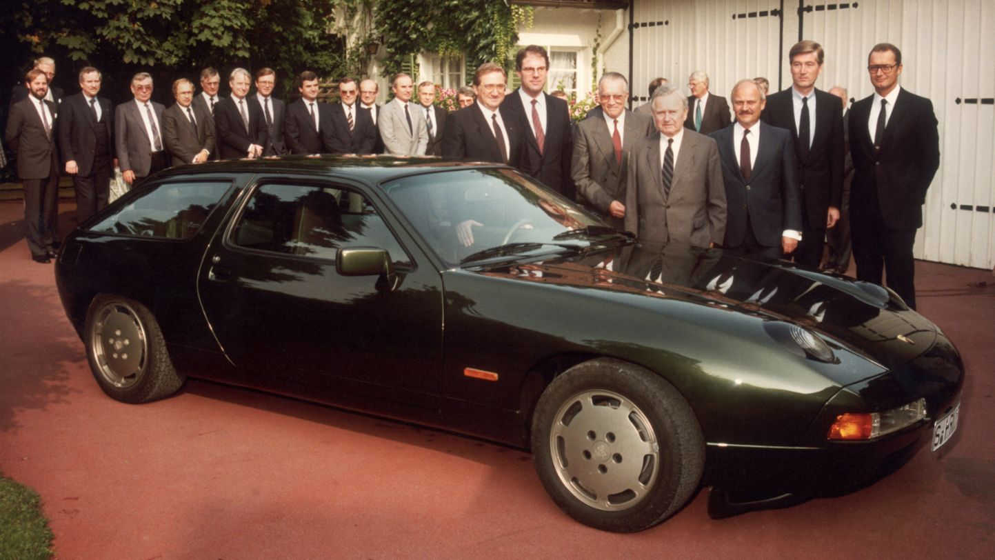928 S, Birthday present for Ferry Porsche, 19.9.1984, Porsche AG