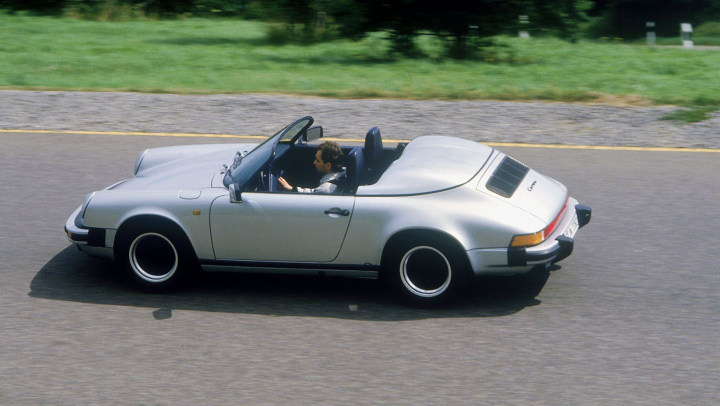 911 Carrera 3,2 Speedster, model year 1989, Porsche AG