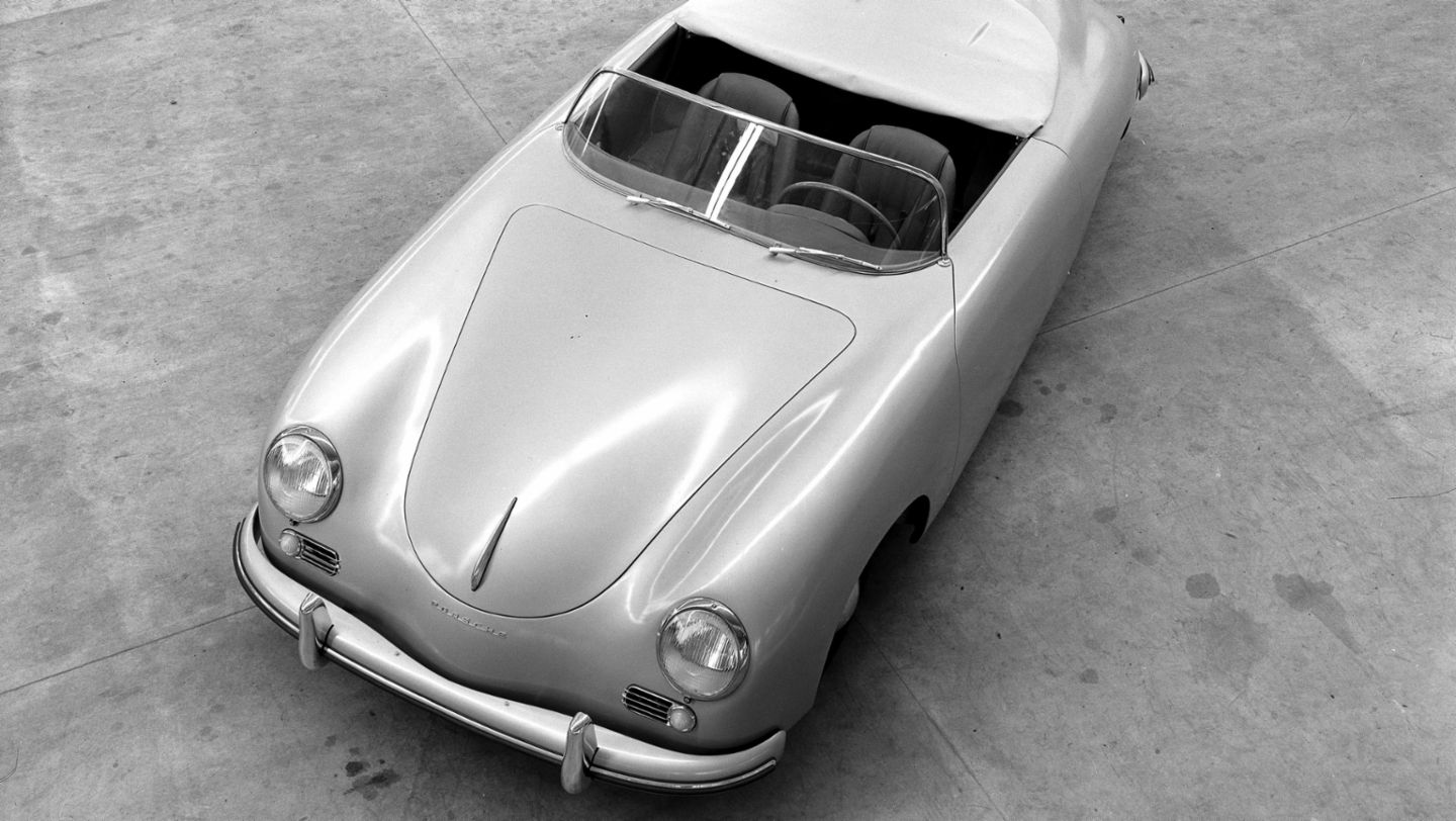 356 Speedster, model year 1954, Porsche AG