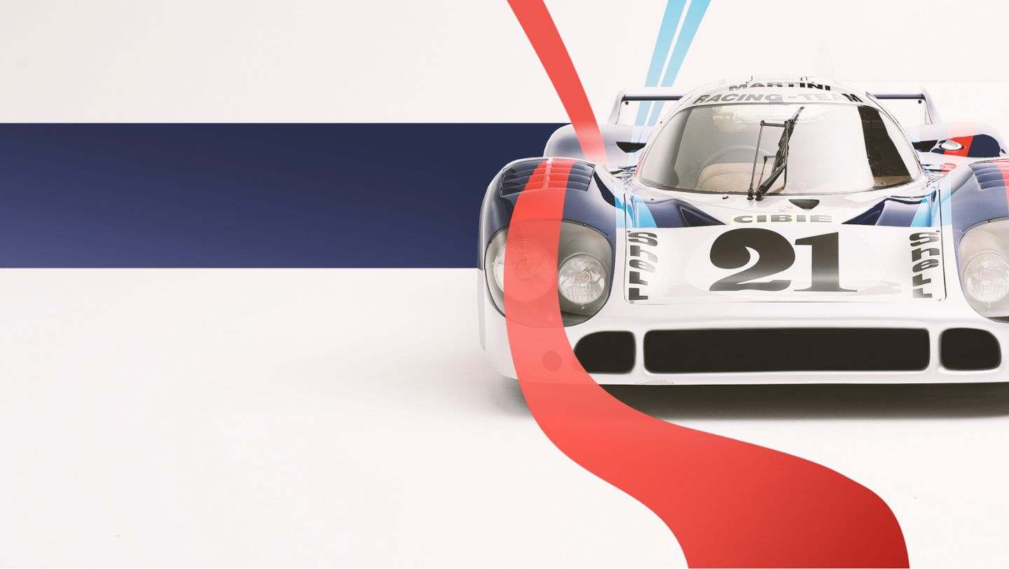 "917 ""long-tail"" with Martini livery, 2019, Porsche AG"