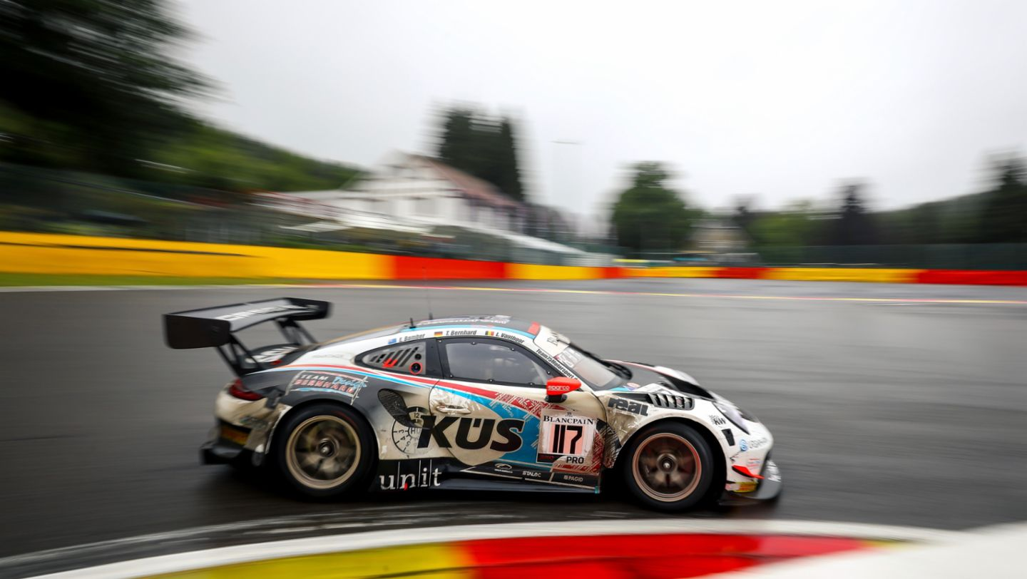911 GT3 R, 24 Hours of Spa, 2019, Porsche AG