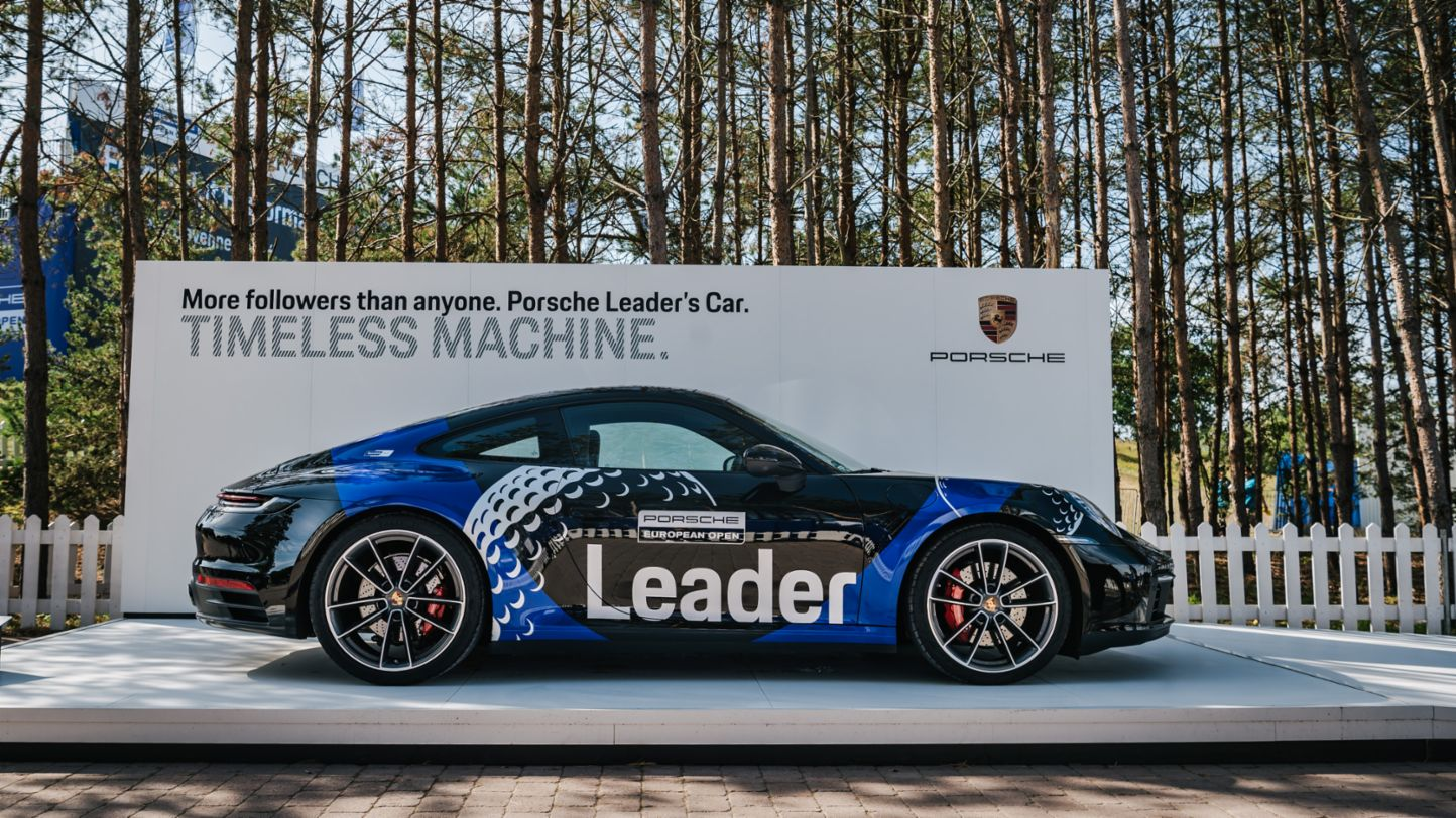 911 Carrera 4S, Porsche Leader's Car, Porsche European Open, Hamburg, 2019, Porsche AG