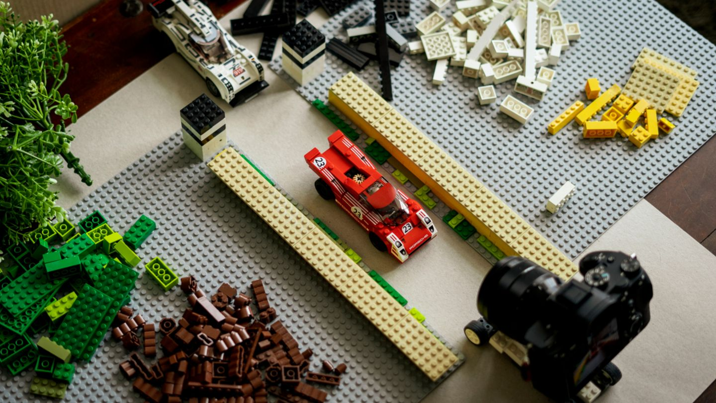 Recreation with Lego, 2020, Porsche AG
