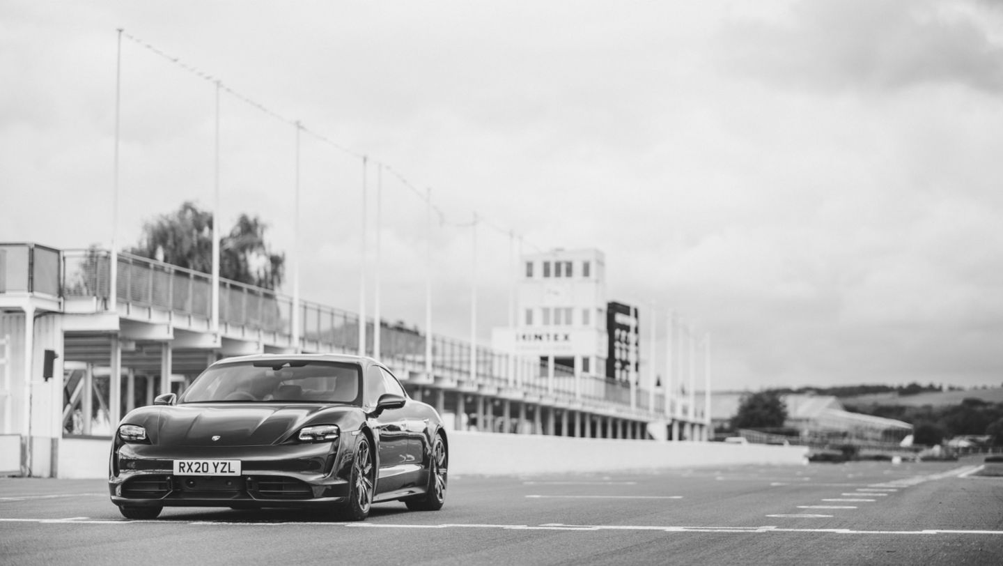 The Taycan at Goodwood: Amy's electric dream - Image 1
