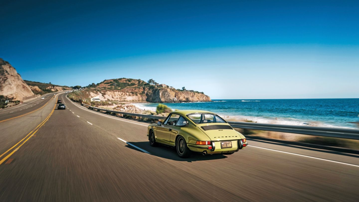 911 T, Pacific Coast Highway, 2020, Porsche AG