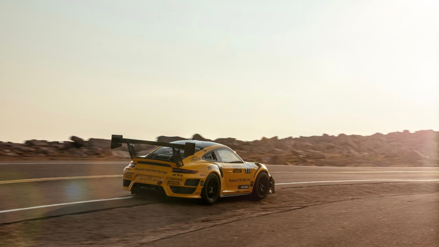 911 GT2 RS Clubsport, Pikes Peak International Hill Climb, 2020, Porsche AG