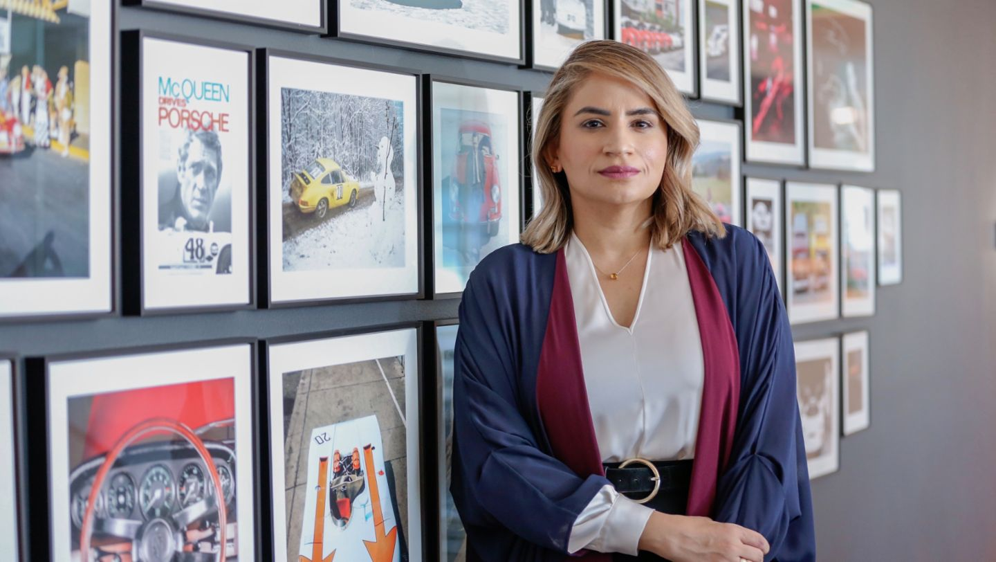 "Porsche's ""Drive Defines Her"" campaign: How a Saudi entrepreneur turned loss into success"